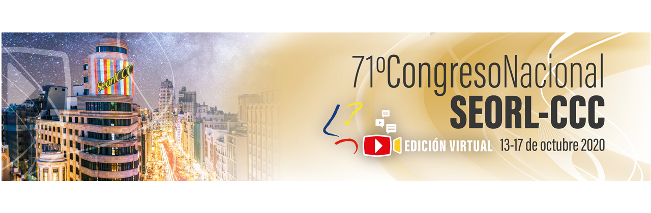 71 Congreso Nacional SEORL-CCC. Edición virtual